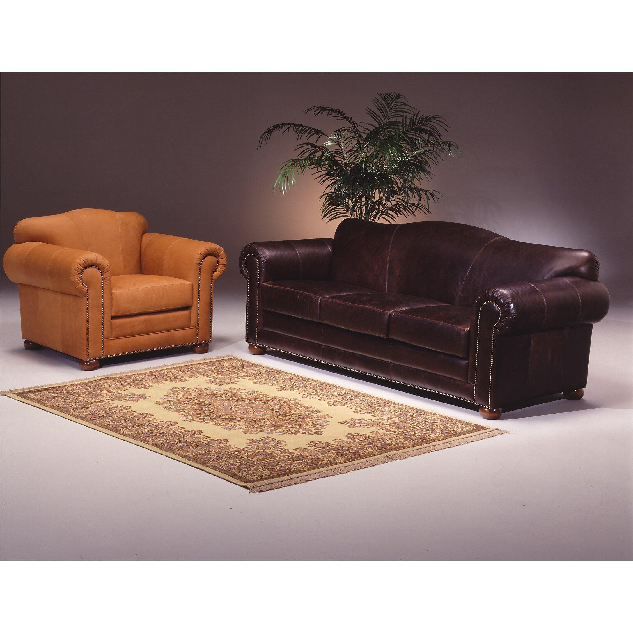 Omnia Leather Sedona Leather Sofa Reviews Wayfair