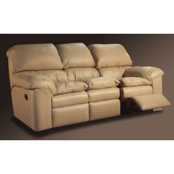 Omnia Leather Catera Leather Reclining Sofa Reviews Wayfair