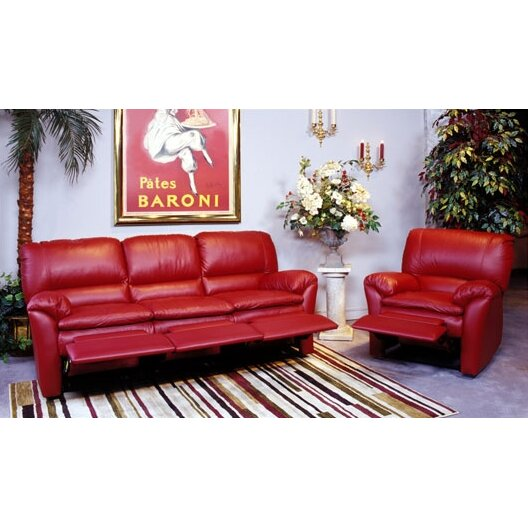 Omnia Leather Luxor Leather Reclining Sofa Reviews Wayfair