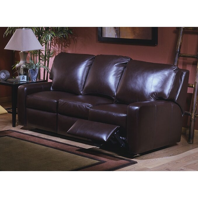 Reviews For Leather Sofas: Omnia Leather Mirage Leather Reclining Sofa & Reviews