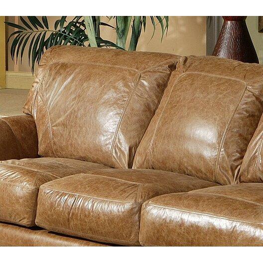 Omnia Leather Houston Leather Sofa & Reviews