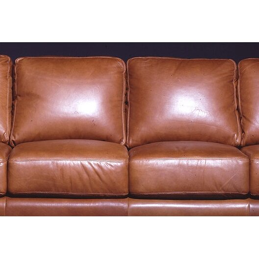 Leather Sofas Reviews: Omnia Leather Prescott Leather Sofa & Reviews