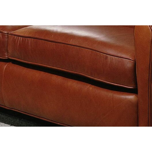 Omnia Leather Furniture Reviews Omnia Leather Buenos Aires Leather Loveseats & Reviews | Wayfair