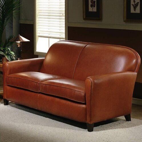 Omnia Leather Furniture Reviews Omnia Leather Buenos Aires 2 Seat Leather Loveseat Set & Reviews ...