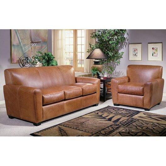 Omnia Leather Jackson Leather Sofa Reviews Wayfair