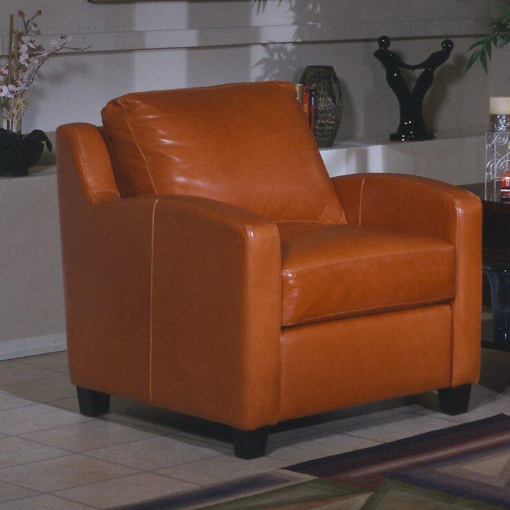 Omnia Leather Chelsea Deco 3 Seat Leather Sofa Set Reviews Wayfair