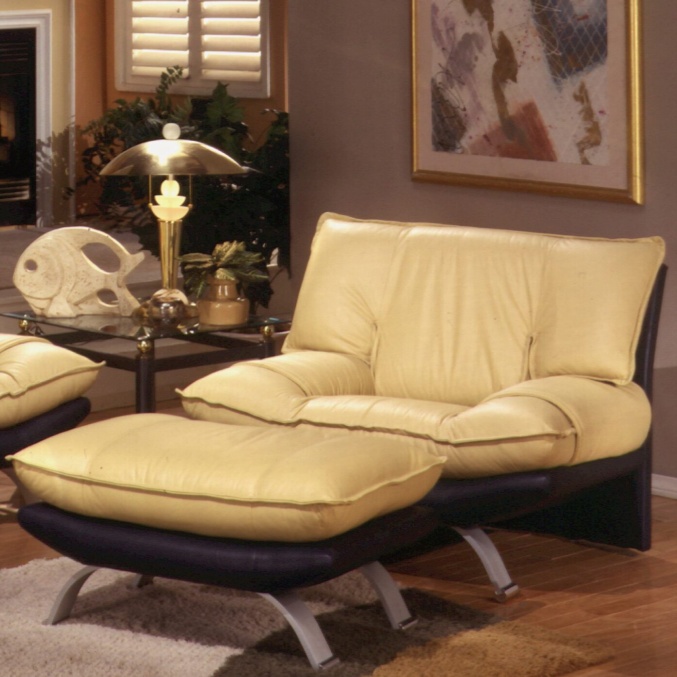 Omnia Leather Princeton Leather Living Room Set Reviews