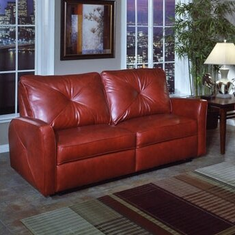 Omnia Savannah Leather Sofa Omnia Leather Bahama Leather Reclining Loveseat  Reviews .