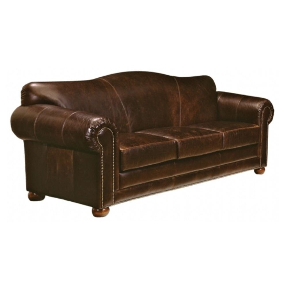 Reviews For Leather Sofas: Omnia Leather Sedona Leather Sofa & Reviews