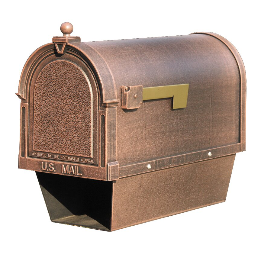 Special Lite Products Berkshire Post Mounted Mailbox With