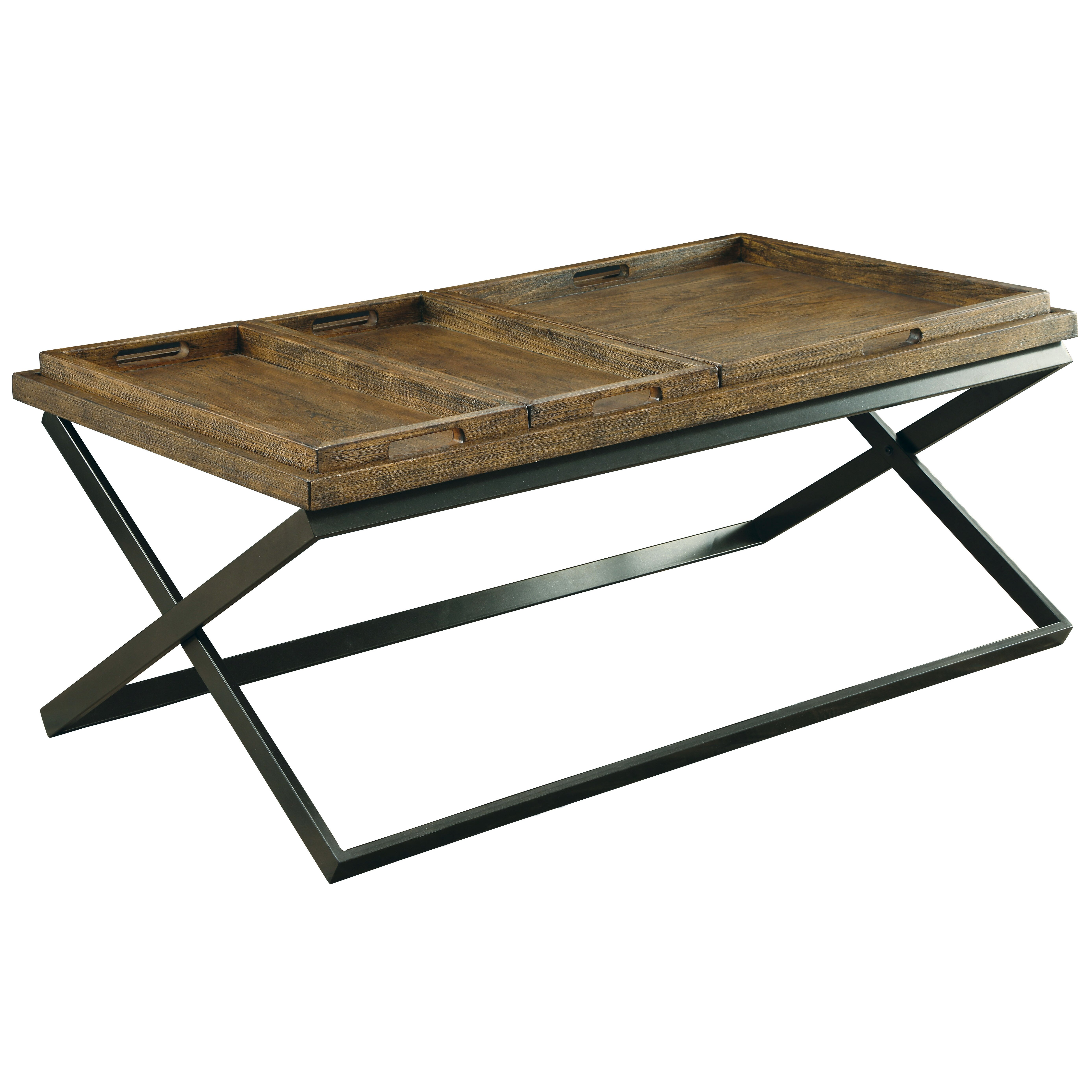 Coffee Table With Tray Top: EnitialLab Chet Coffee Table With Tray Top