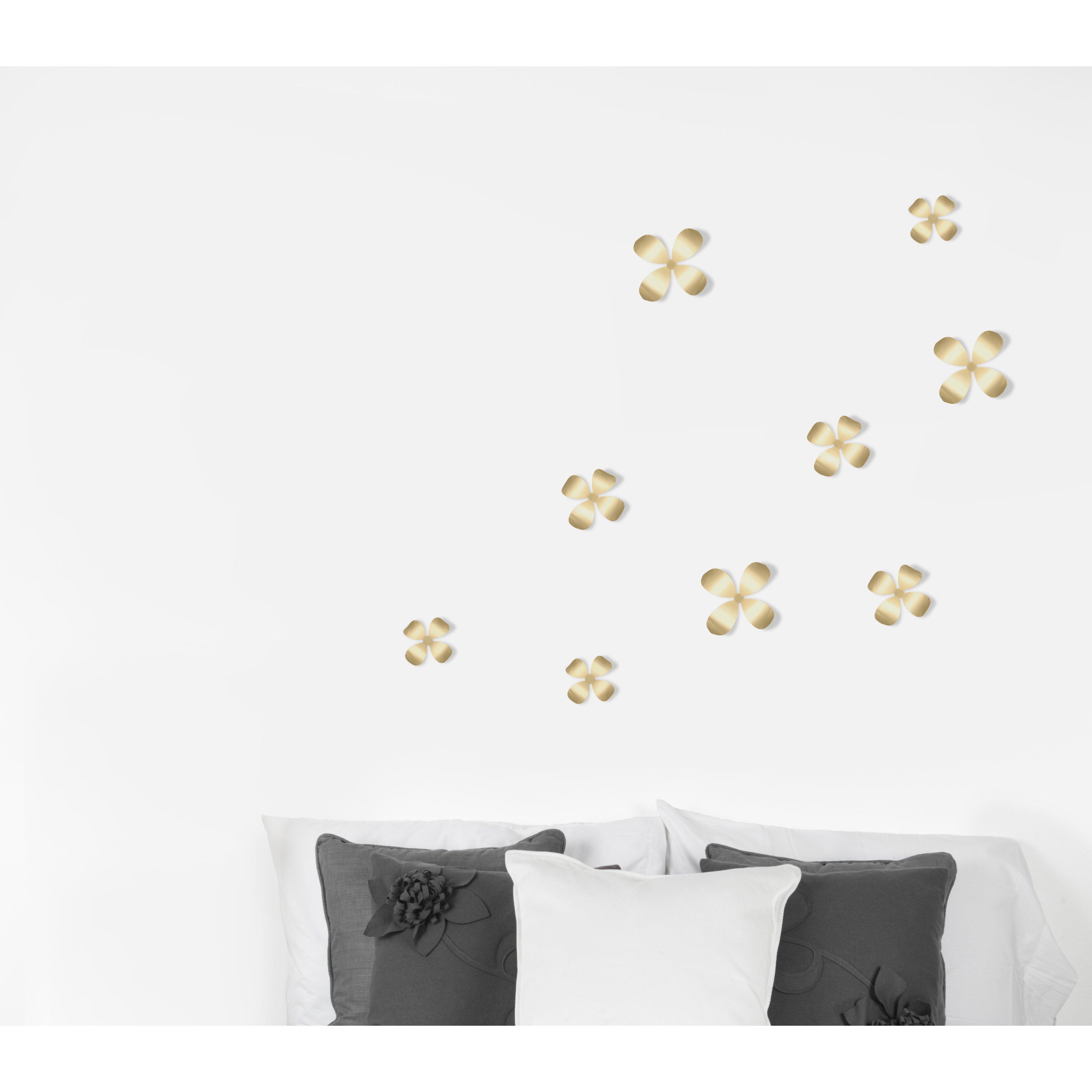 Umbra Wallflower Wall Décor Set Of 25 : Umbra piece wallflower wall d?cor set reviews wayfair