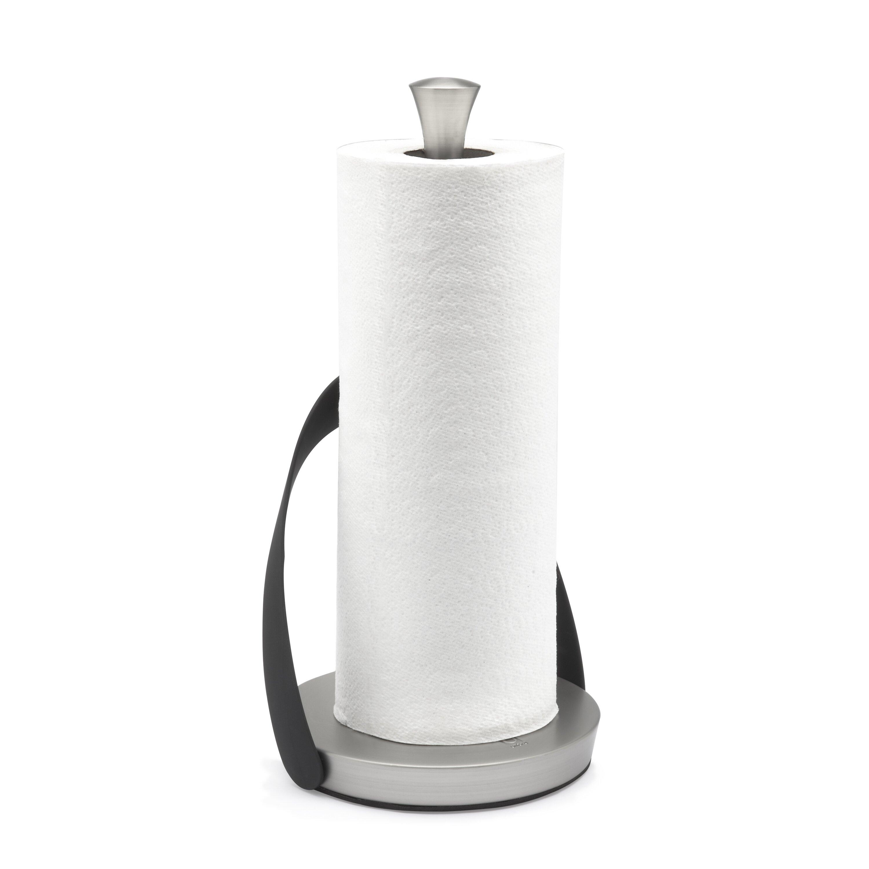 umbra arch paper towel holder reviews wayfair. Black Bedroom Furniture Sets. Home Design Ideas