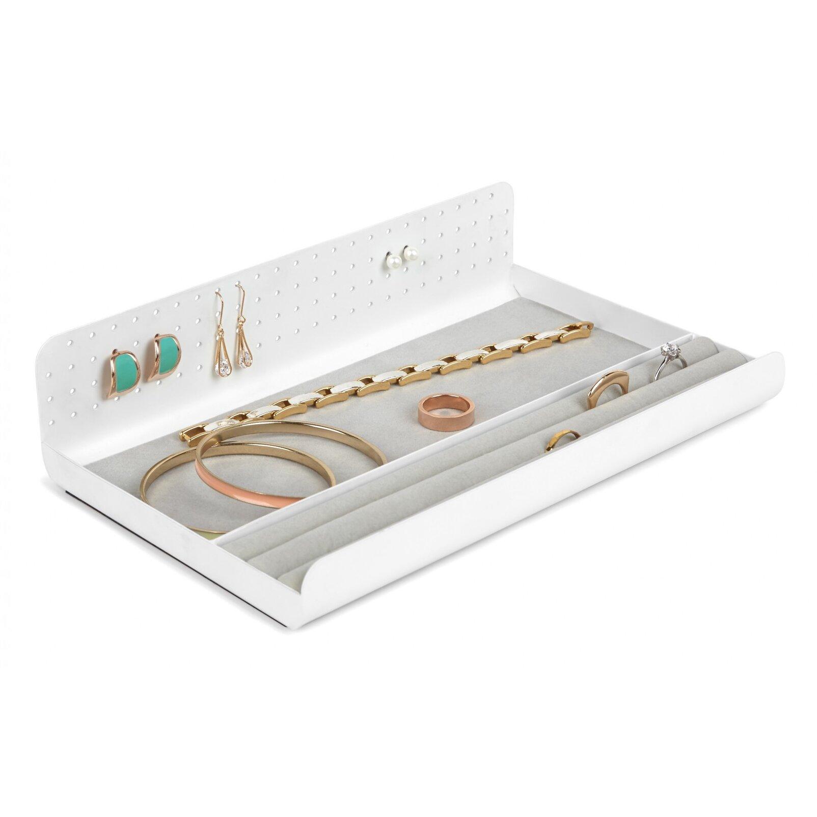 Umbra curio jewelry tray wayfair for Terrace jewelry organizer by umbra