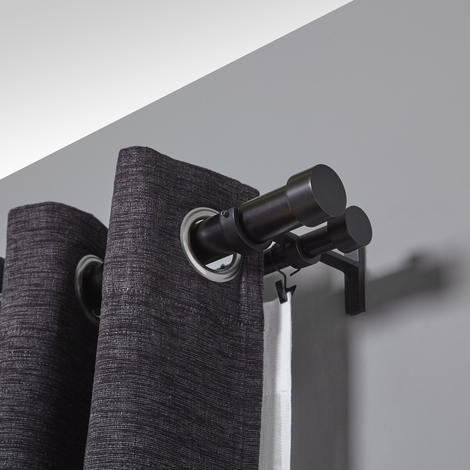 Umbra Cappa Double Curtain Rod Amp Reviews Wayfair