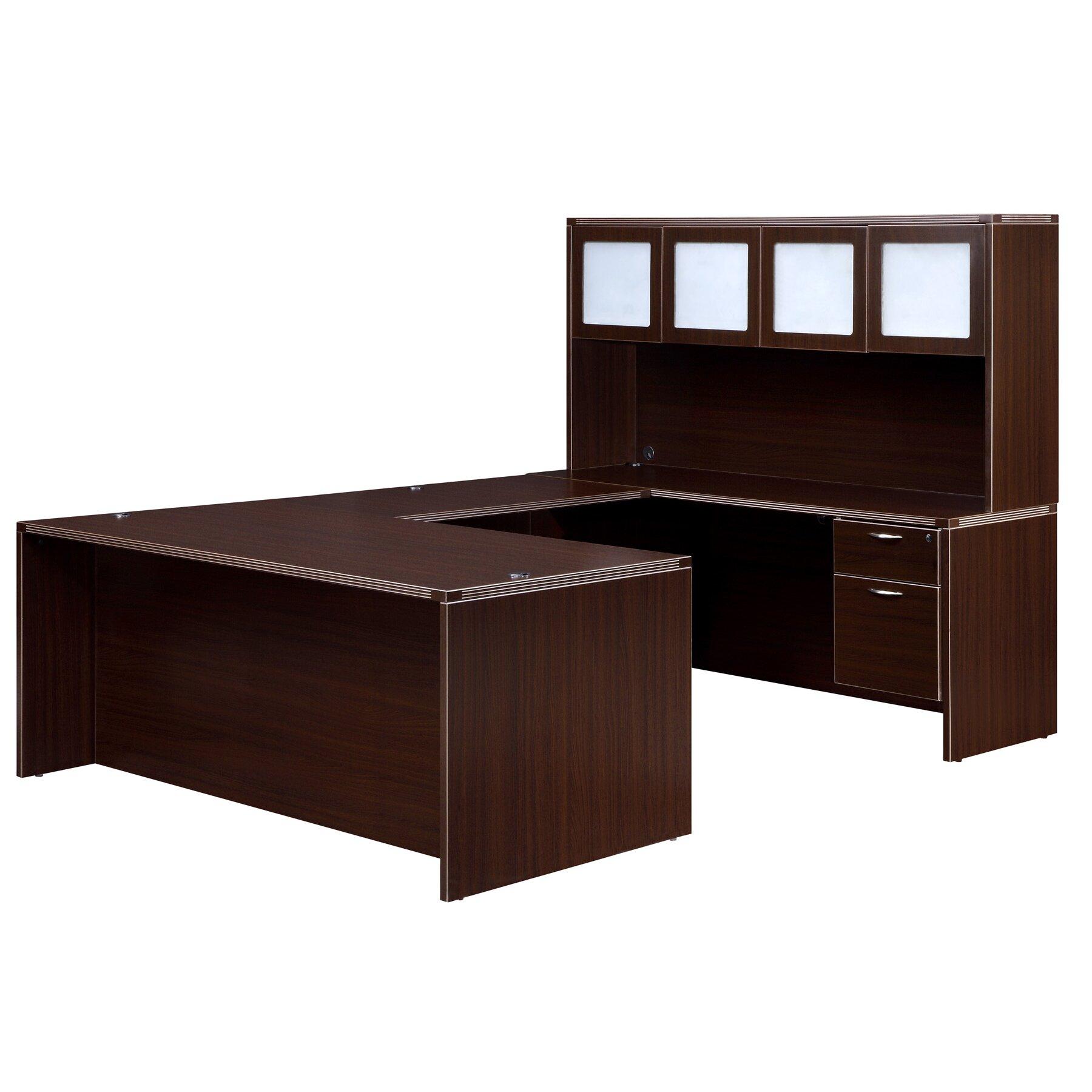 Dmi Office Furniture Fairplex U Shape Exec Comp Desk With