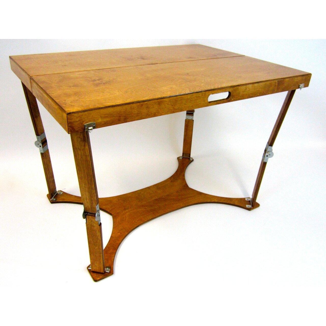 spiderlegs picnic folding dining table reviews wayfair. Black Bedroom Furniture Sets. Home Design Ideas