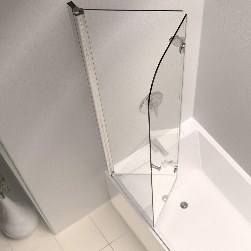 frameless pivot tub/shower door - Door, Knobs & Handle Home