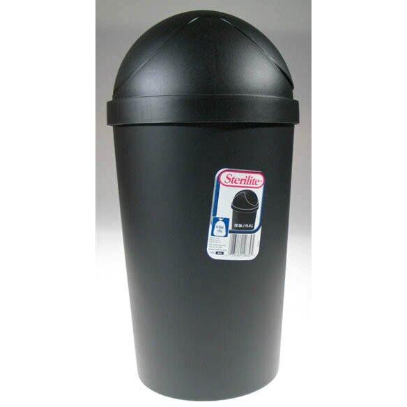 sterilite 10 5 gallon swing top trash can reviews wayfair. Black Bedroom Furniture Sets. Home Design Ideas