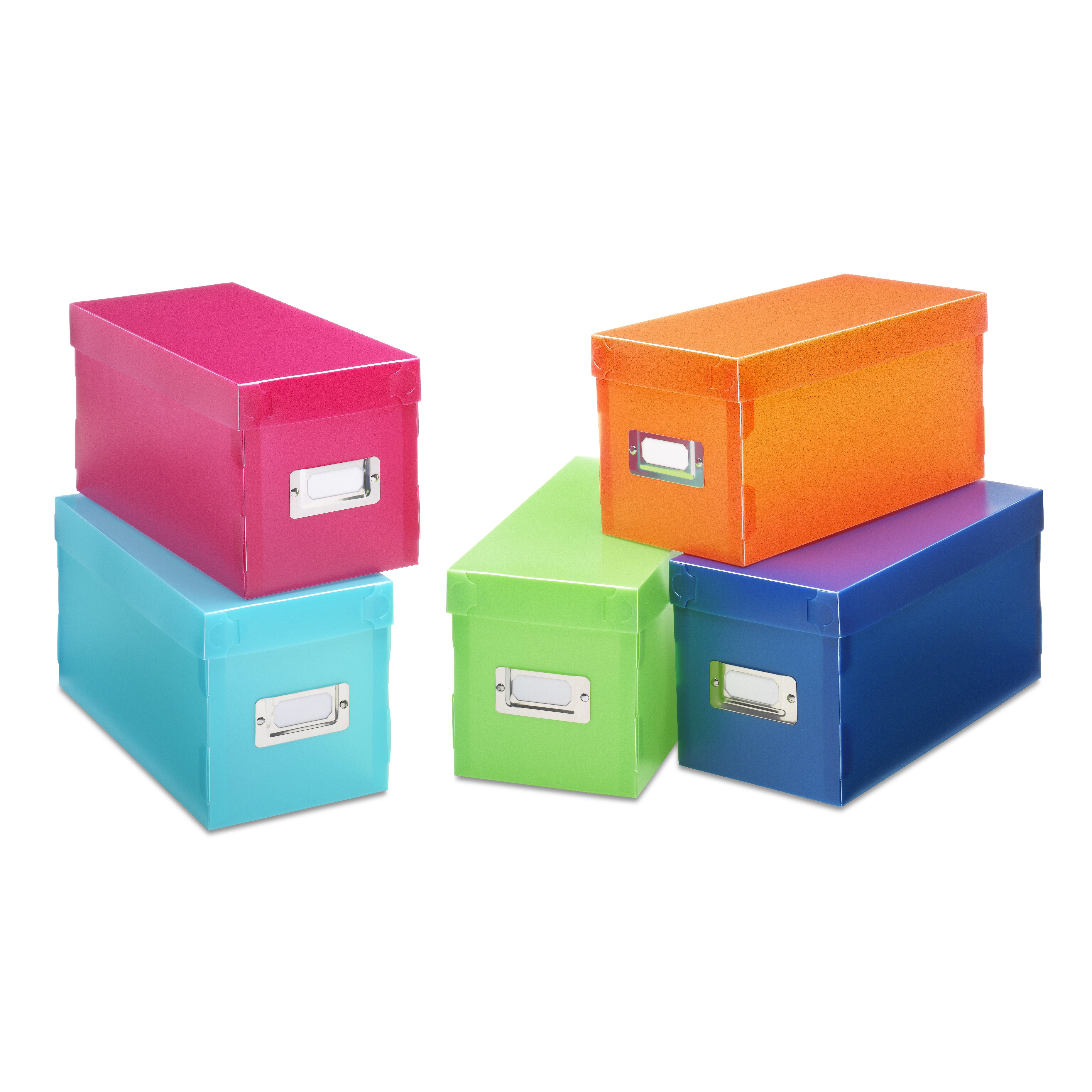 Whitmor Inc Plastic Storage Box Amp Reviews Wayfair
