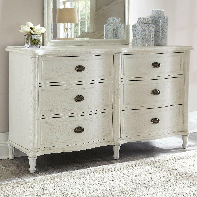 Universal Furniture Amity 6 Drawer Dresser Reviews Wayfair