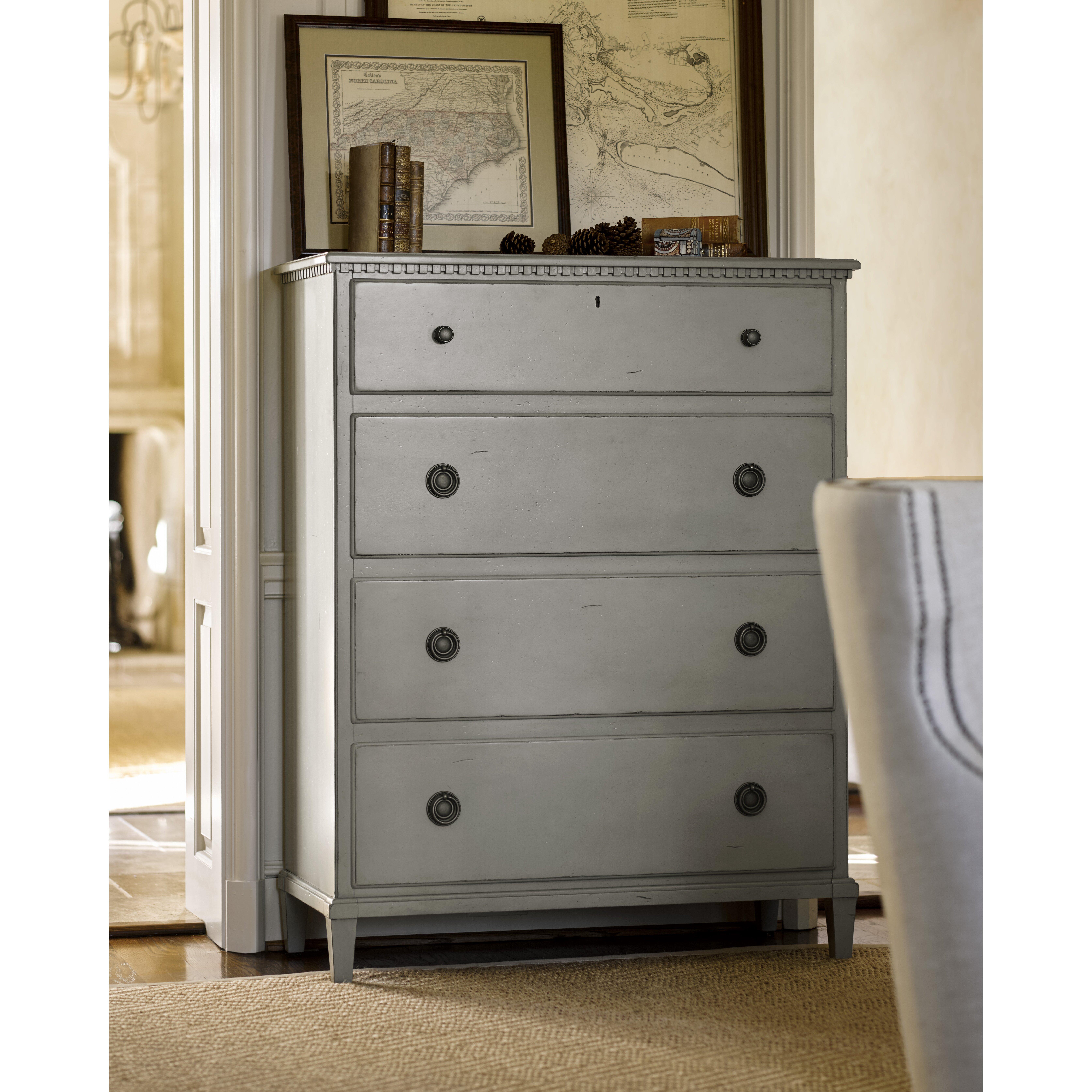 Universal Furniture Sojourn 4 Drawer Gentleman 39 S Chest Reviews Wayfair
