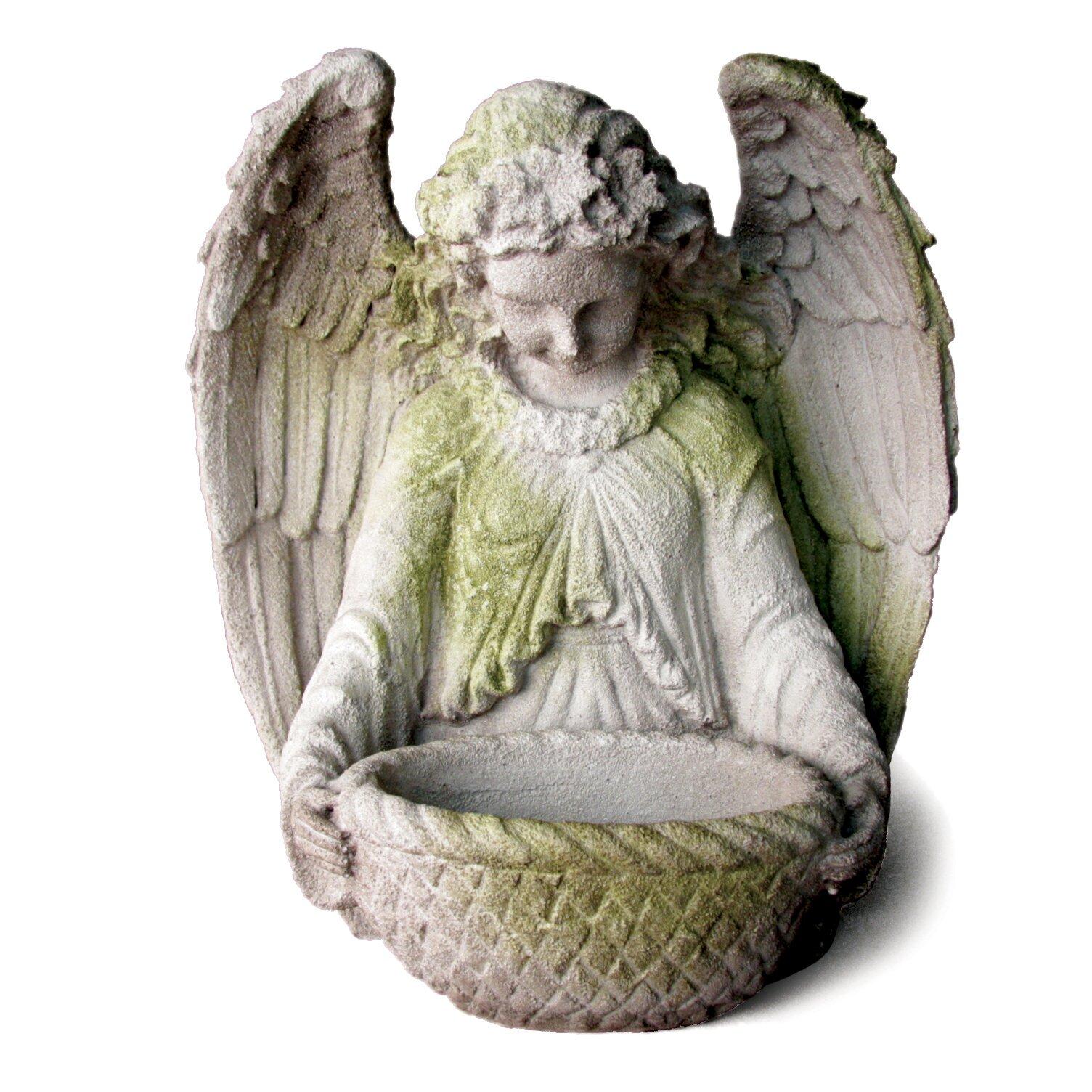 Wayfair Garden Statues: OrlandiStatuary Angels Garden Angel Statue & Reviews