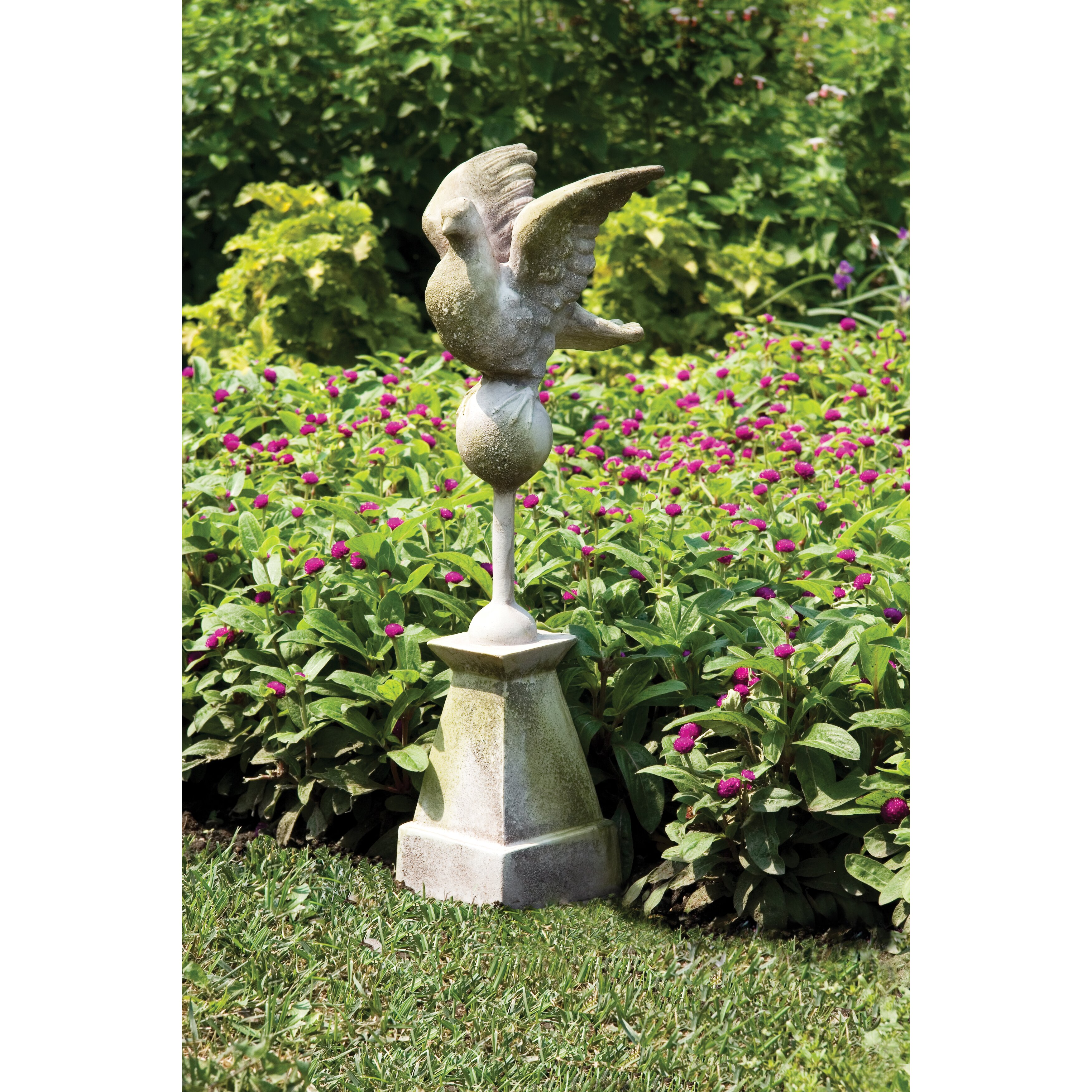 Wayfair Garden Statues: OrlandiStatuary Dove Statue & Reviews