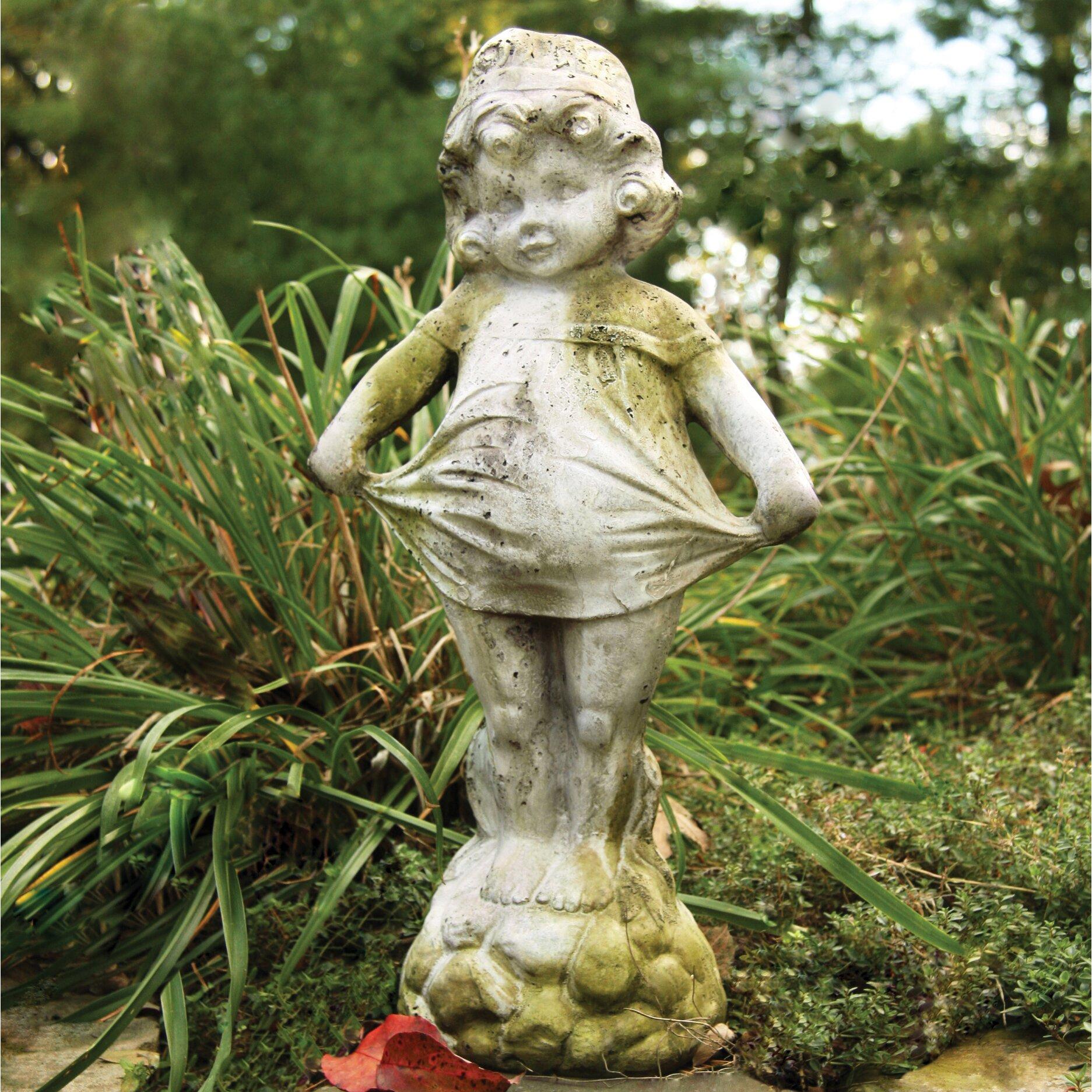 Orlandistatuary Children Little Sister Outdoor Statue