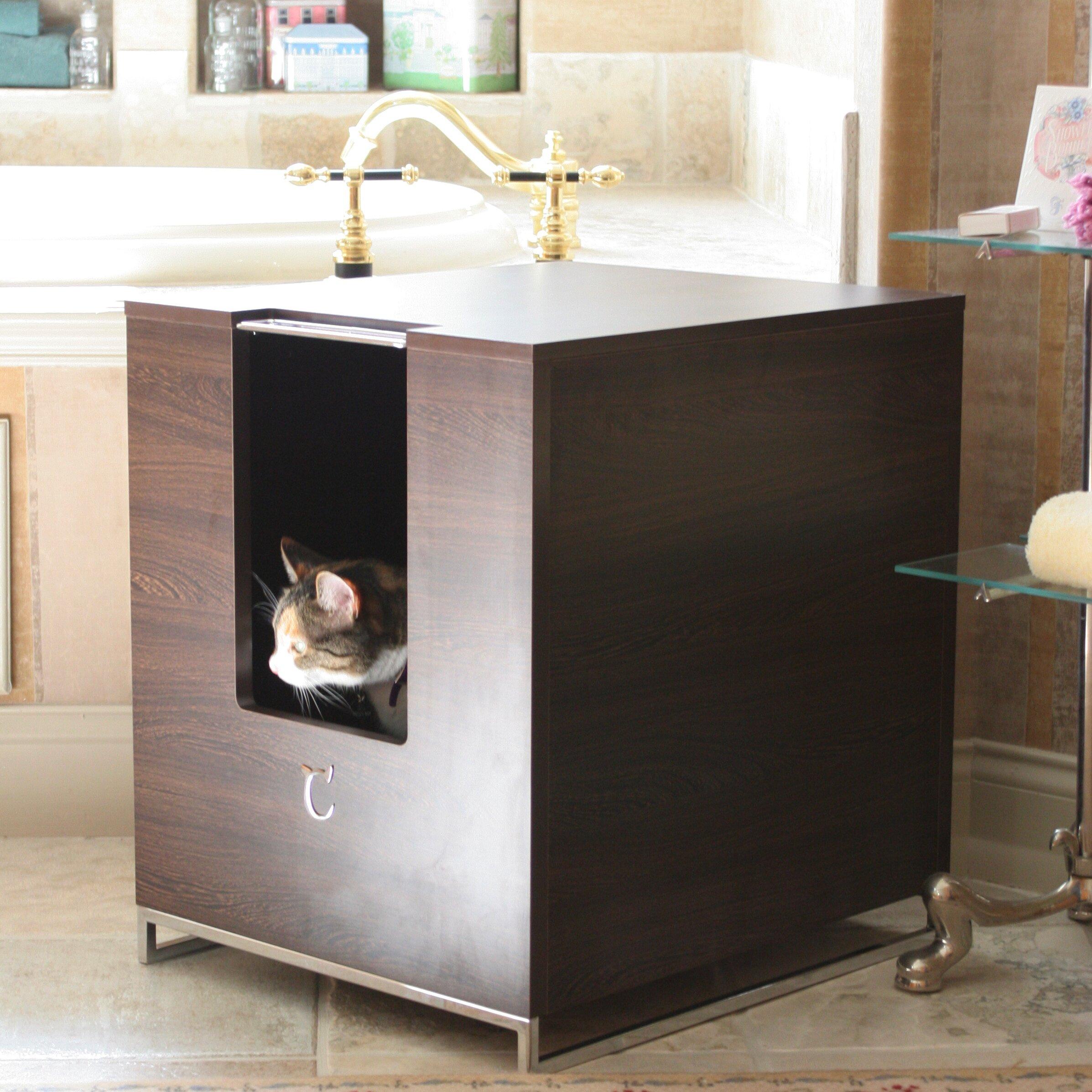 modern cat designs hider cat litter box arena kitty litter box