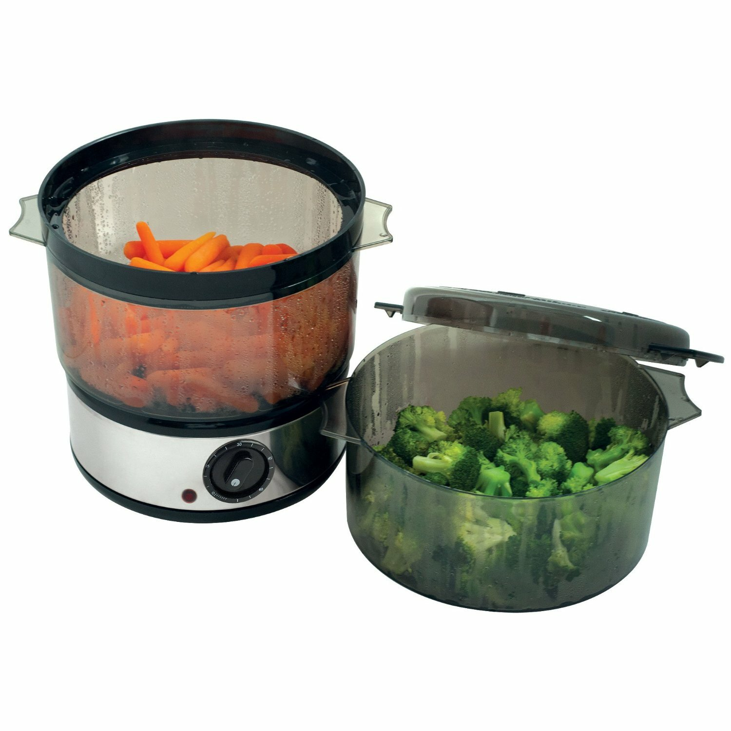 Kitchen Living Food Steamer: Chef Buddy 4-Quart Food Steamer & Reviews