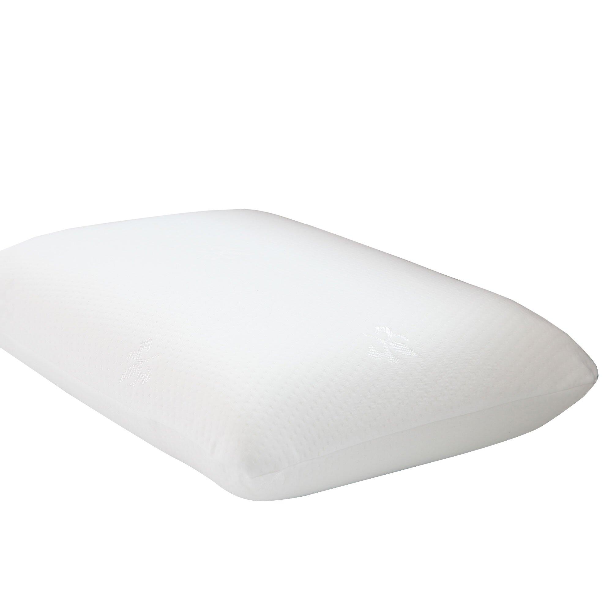 Remedy Gel Memory Foam Pillow With Cover Amp Reviews Wayfair