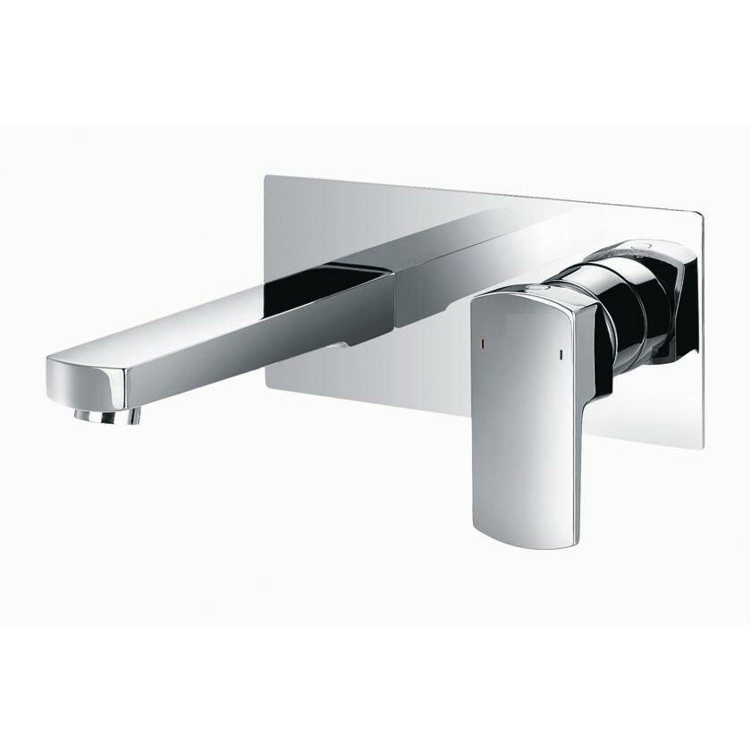 Artos Safire Wall Mounted Bathroom Faucet with Single Lever Handle ...