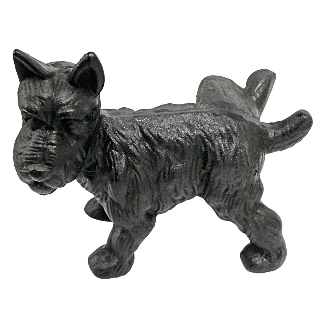 Design toscano naughty peeing scotty dog die cast iron doorstop and book ends reviews wayfair - Cast iron dog doorstop ...