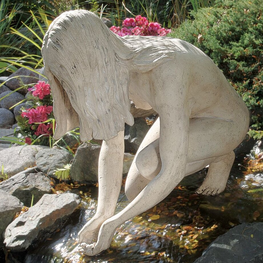 Wayfair Garden Statues: Design Toscano Lady Of The Lake Garden Statue