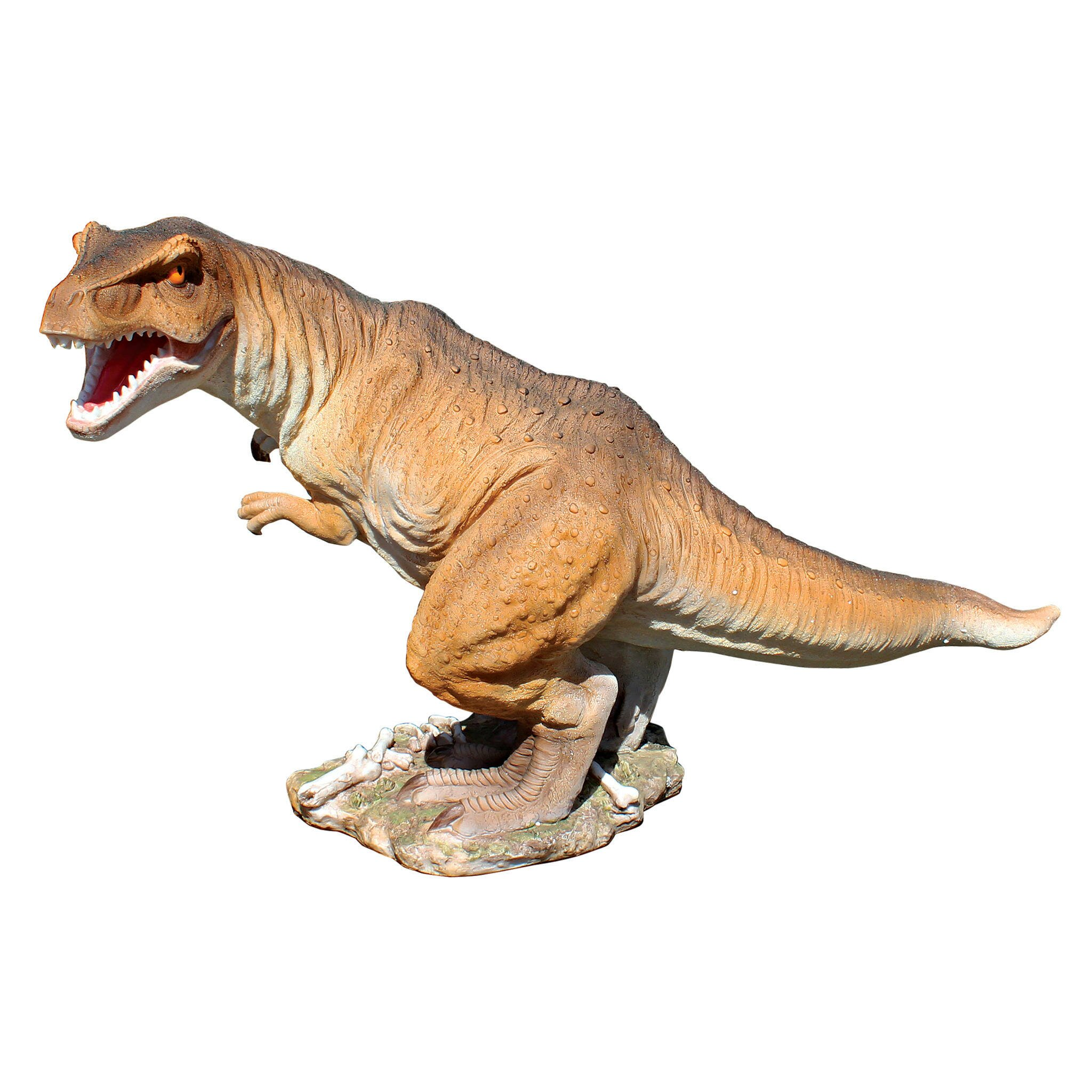 Design Toscano Scaled Jurassic T-Rex Raptor Dinosaur ...