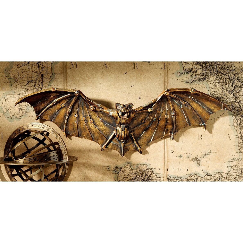 Design Toscano Cyber Bat Steampunk Wall D Cor Reviews