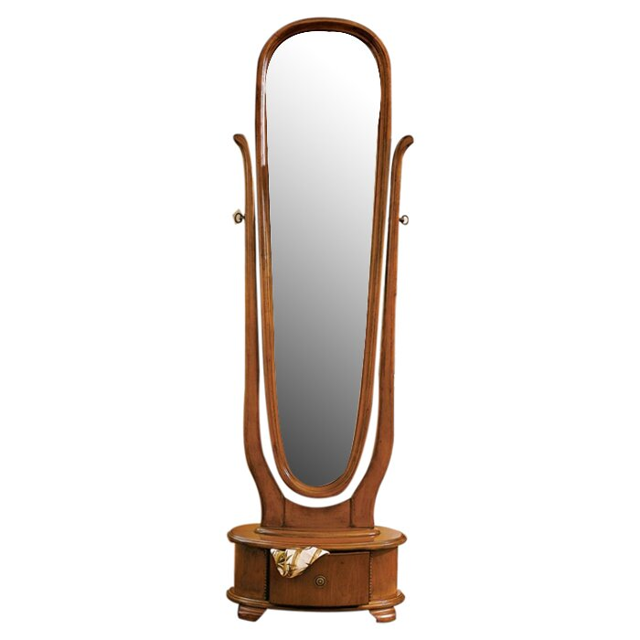 Design Toscano Lady Caroline Floor Mirror Reviews Wayfair