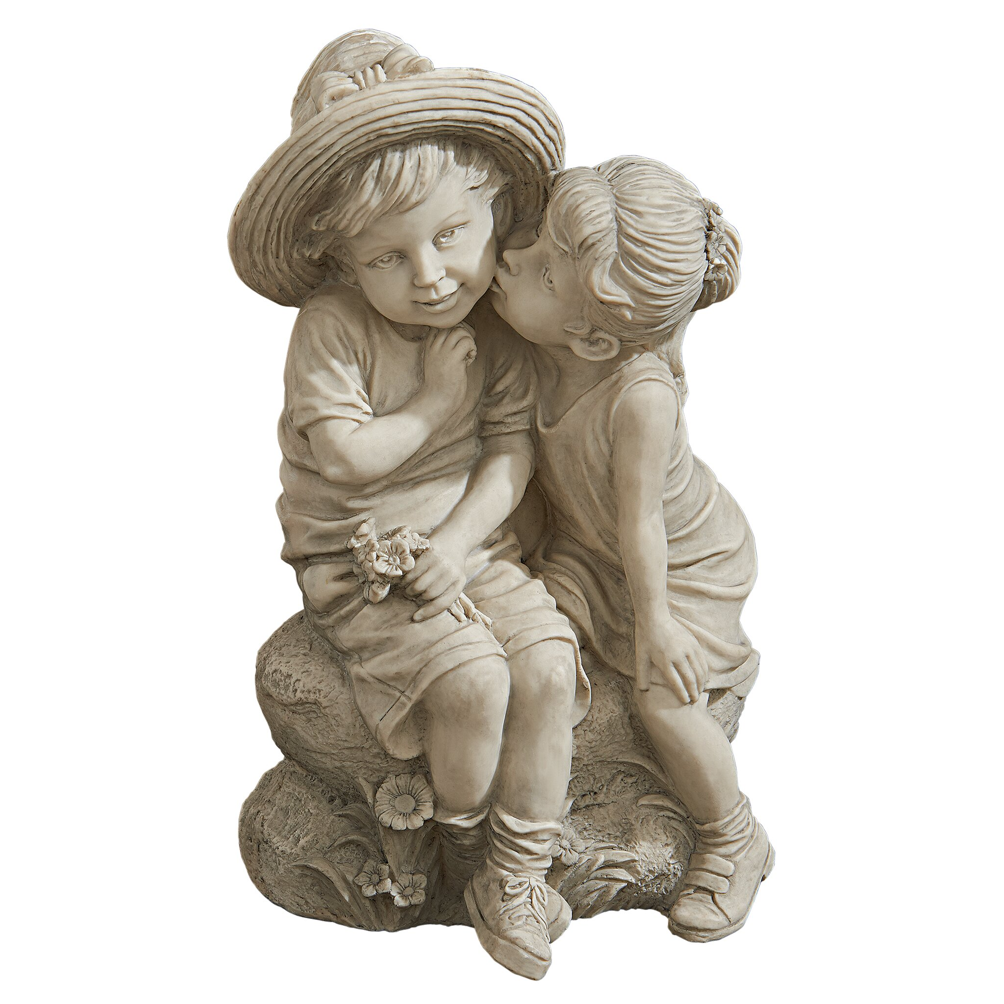 Design Toscano Kissing Kids Boy and Girl Statue amp Reviews  : Design Toscano Kissing Kids Boy and Girl Statue SH38019413 from www.wayfair.com size 2048 x 2048 jpeg 683kB