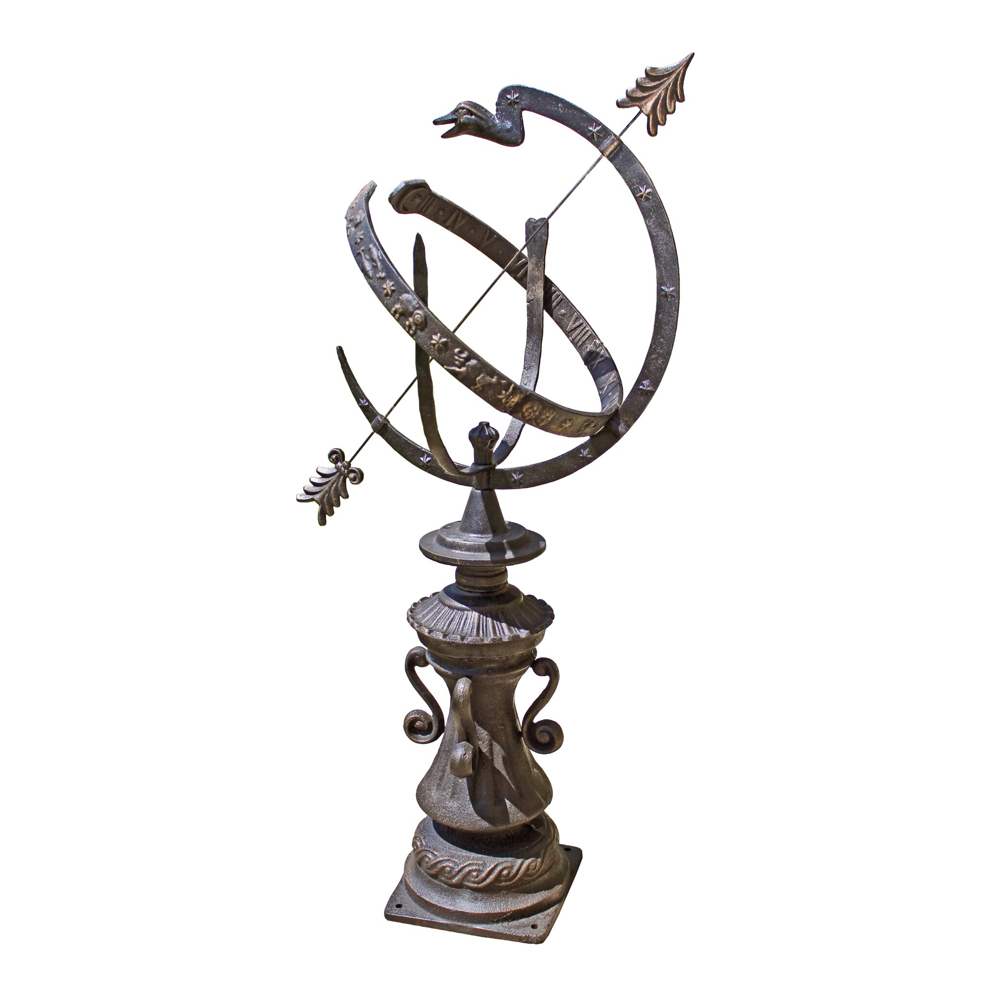 Design Toscano Hyde Park Authentic Armillary Sphere Garden