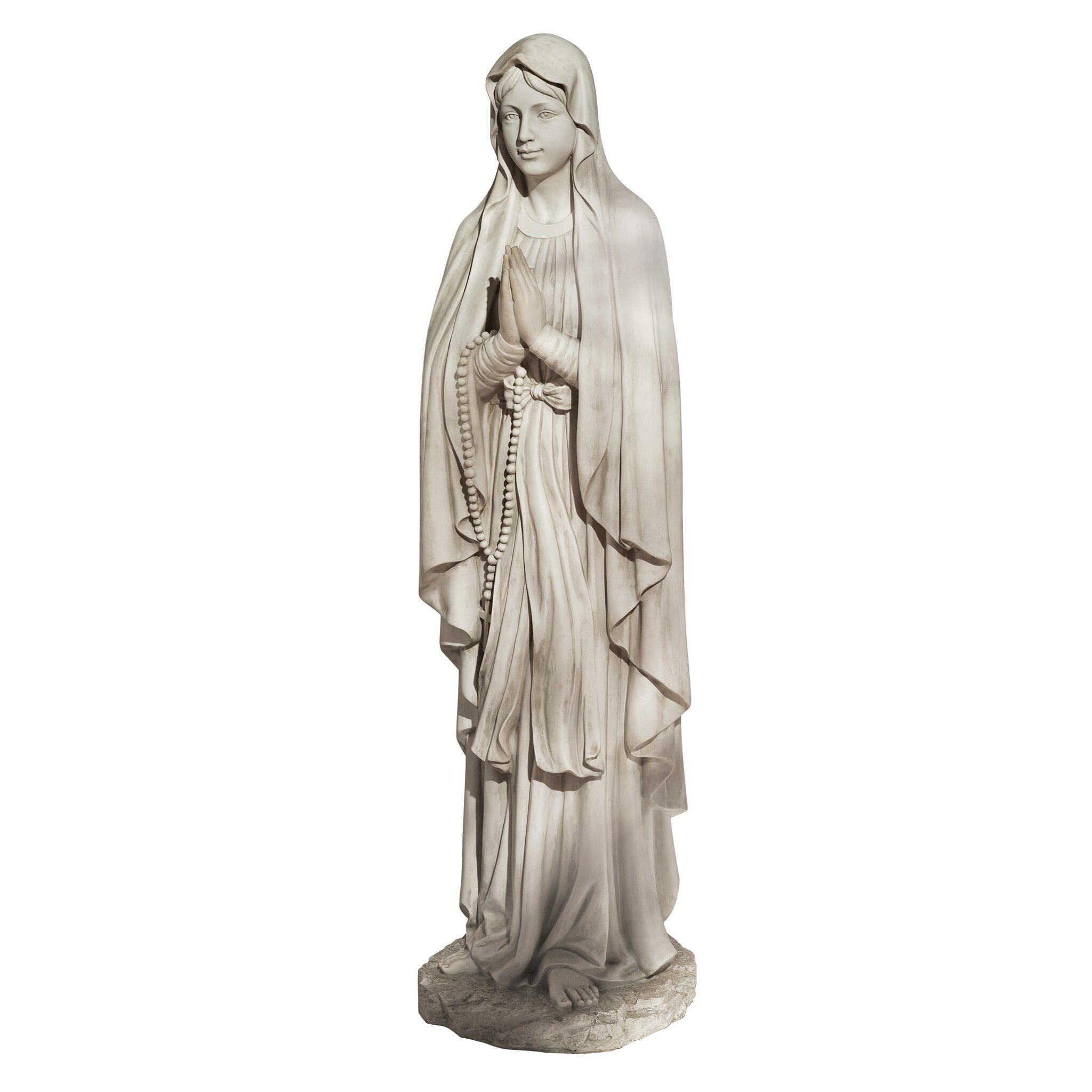 Design Toscano Life Size Blessed Virgin Mary Statue Wayfair