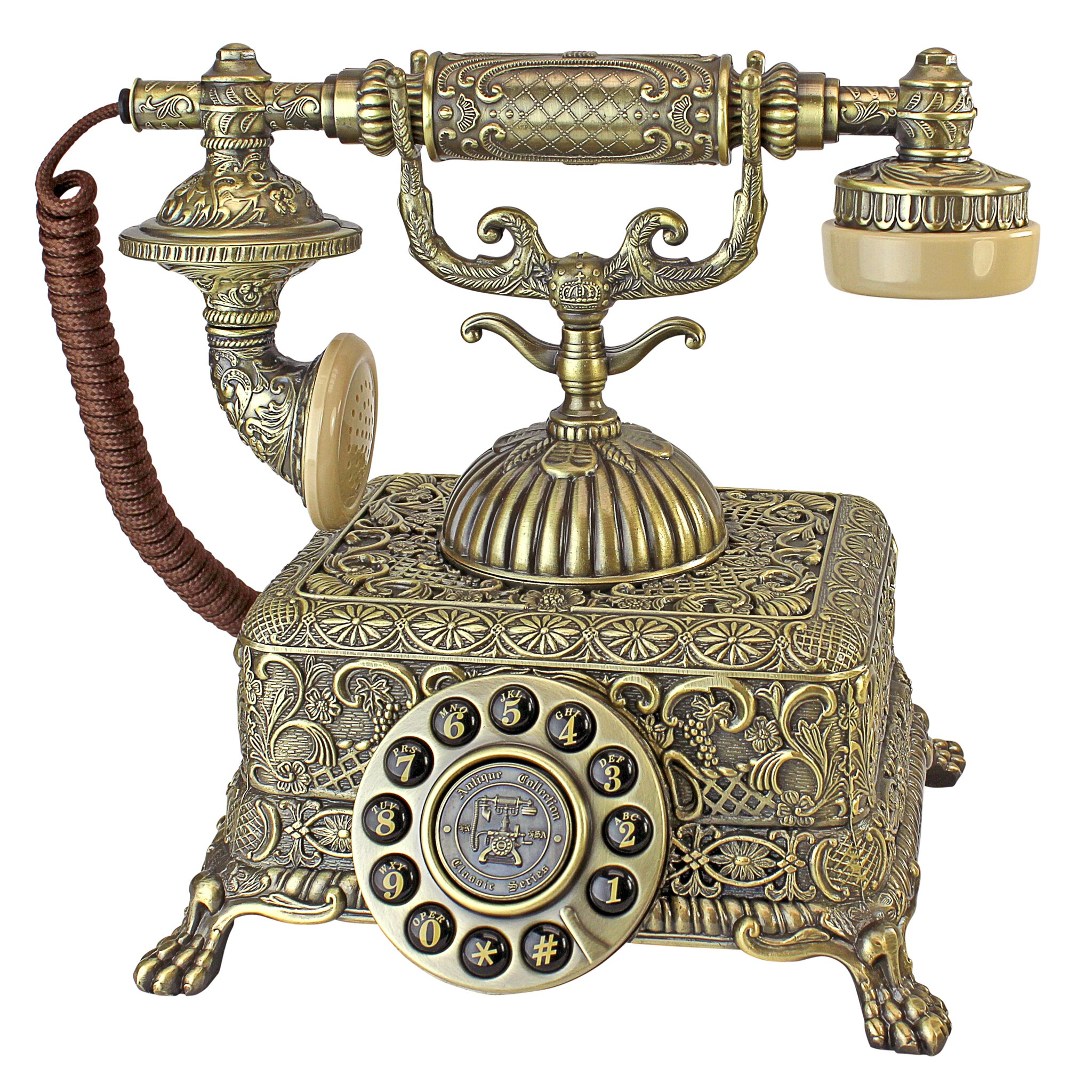 Design toscano 1933 reproduction grand emperor telephone for Design reproduktion