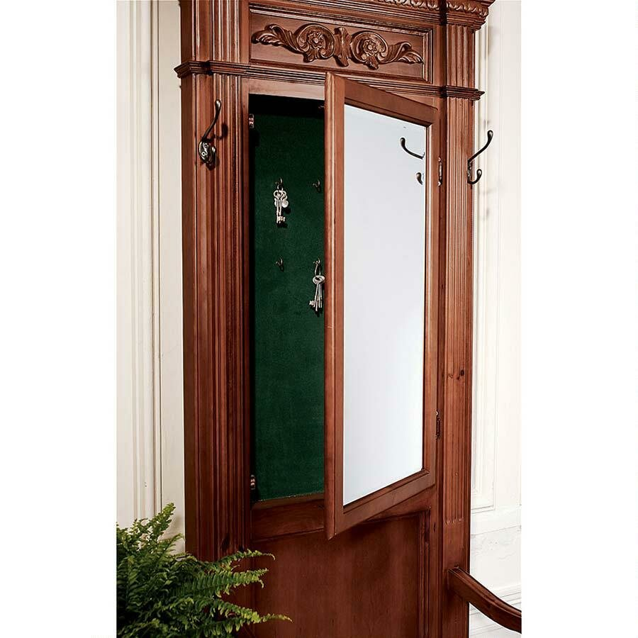 Wayfair Foyer Mirror : Design toscano the kenmore manor hall tree reviews wayfair