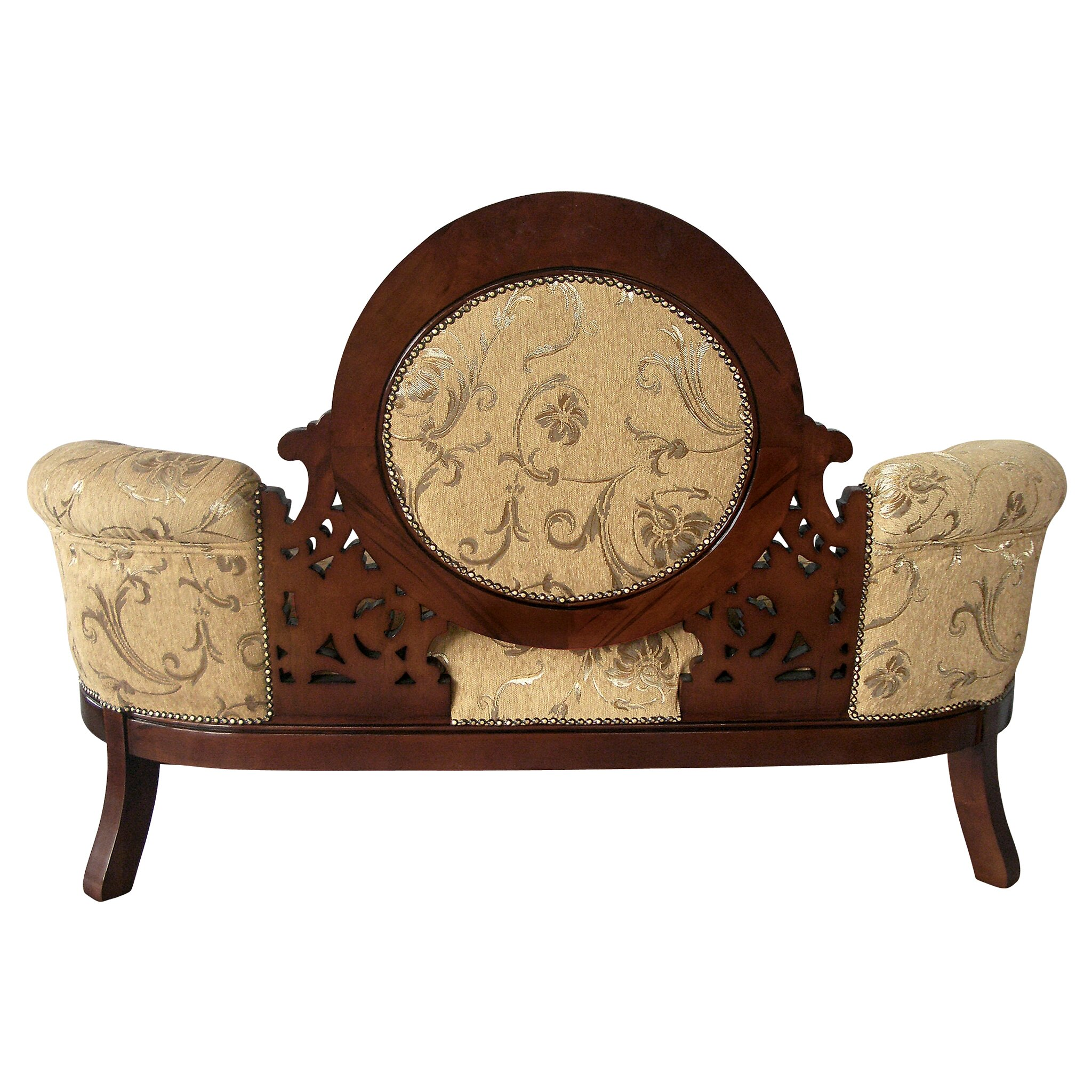 Design Toscano Victorian Cameo Backed Sofa
