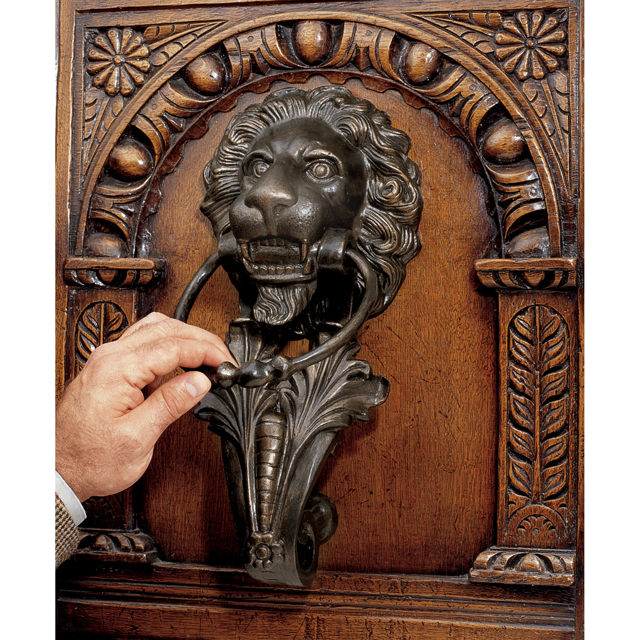 Design Toscano Florentine Lion Door Knocker Amp Reviews