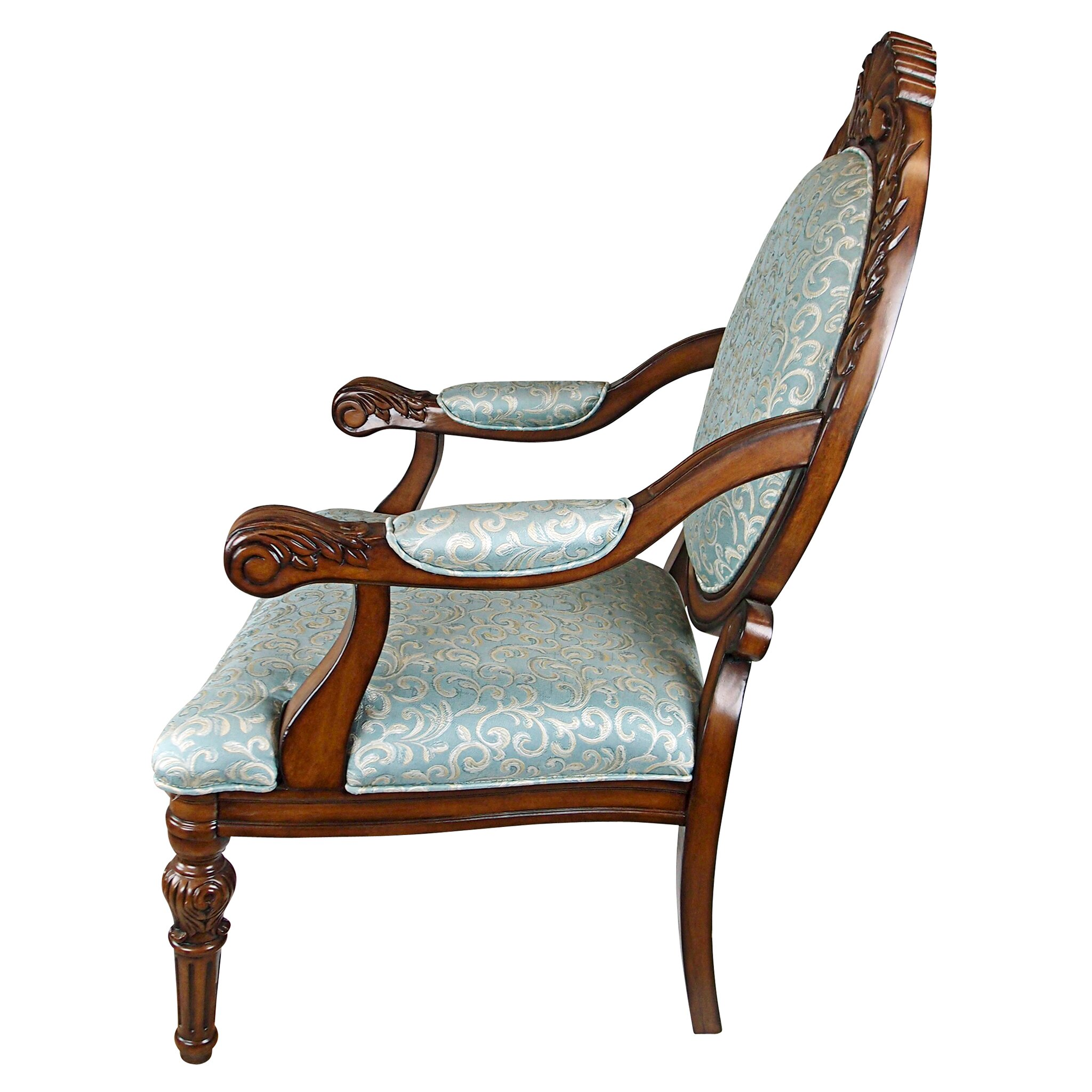Design toscano victoria arm chair reviews wayfair for Design tuscany