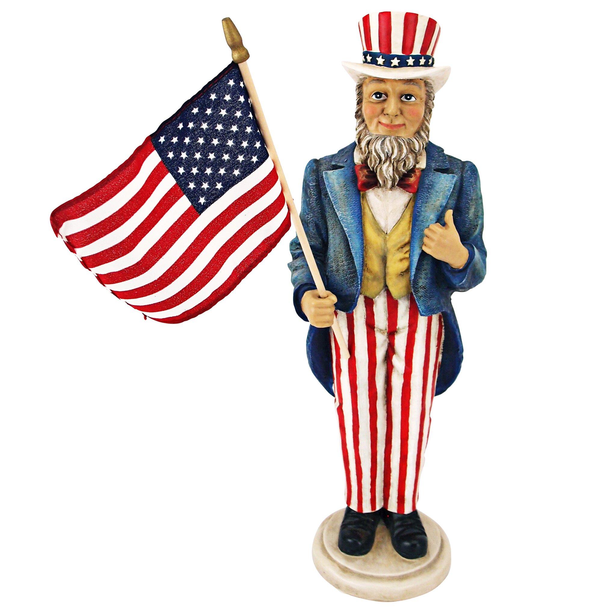 Design Toscano Uncle Sam Yankee Doodle Dandy Statue