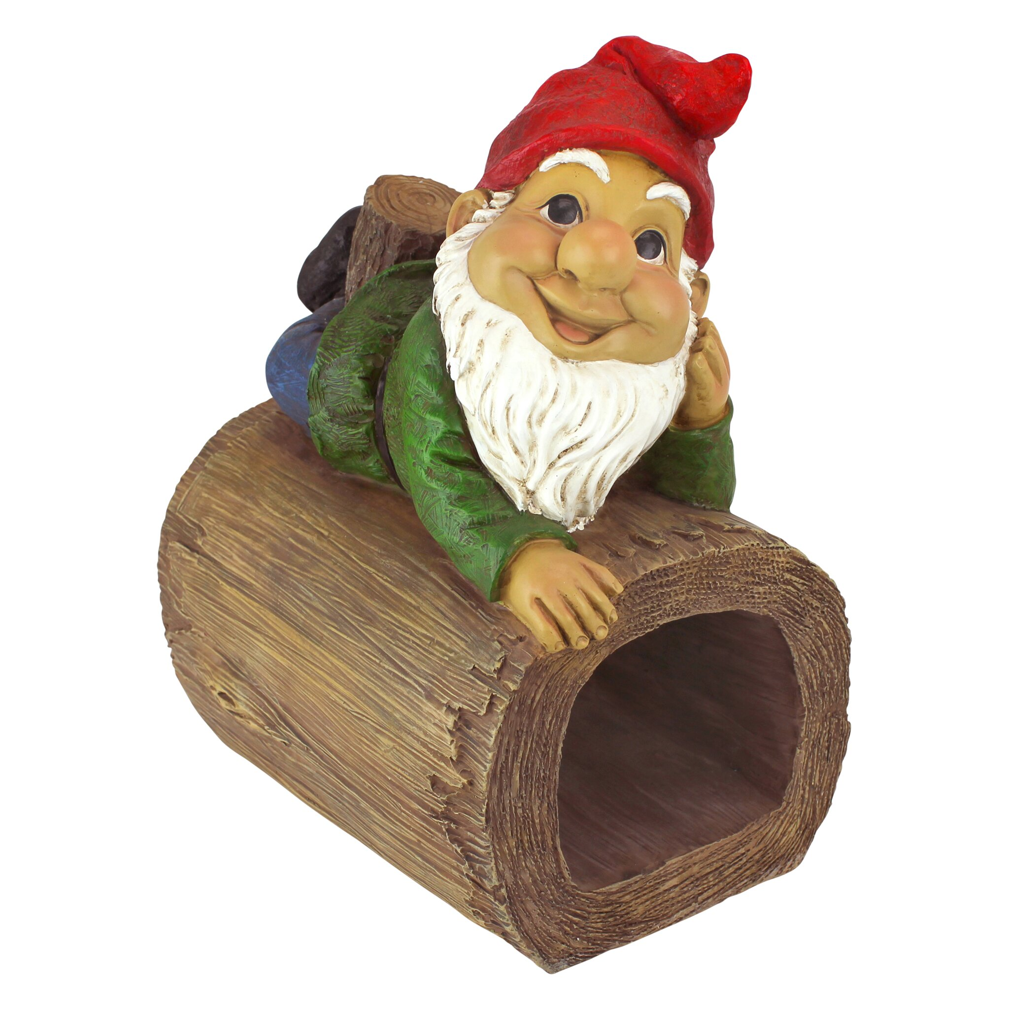 Design toscano stormy the gnome gutter guardian downspout for Design tuscany