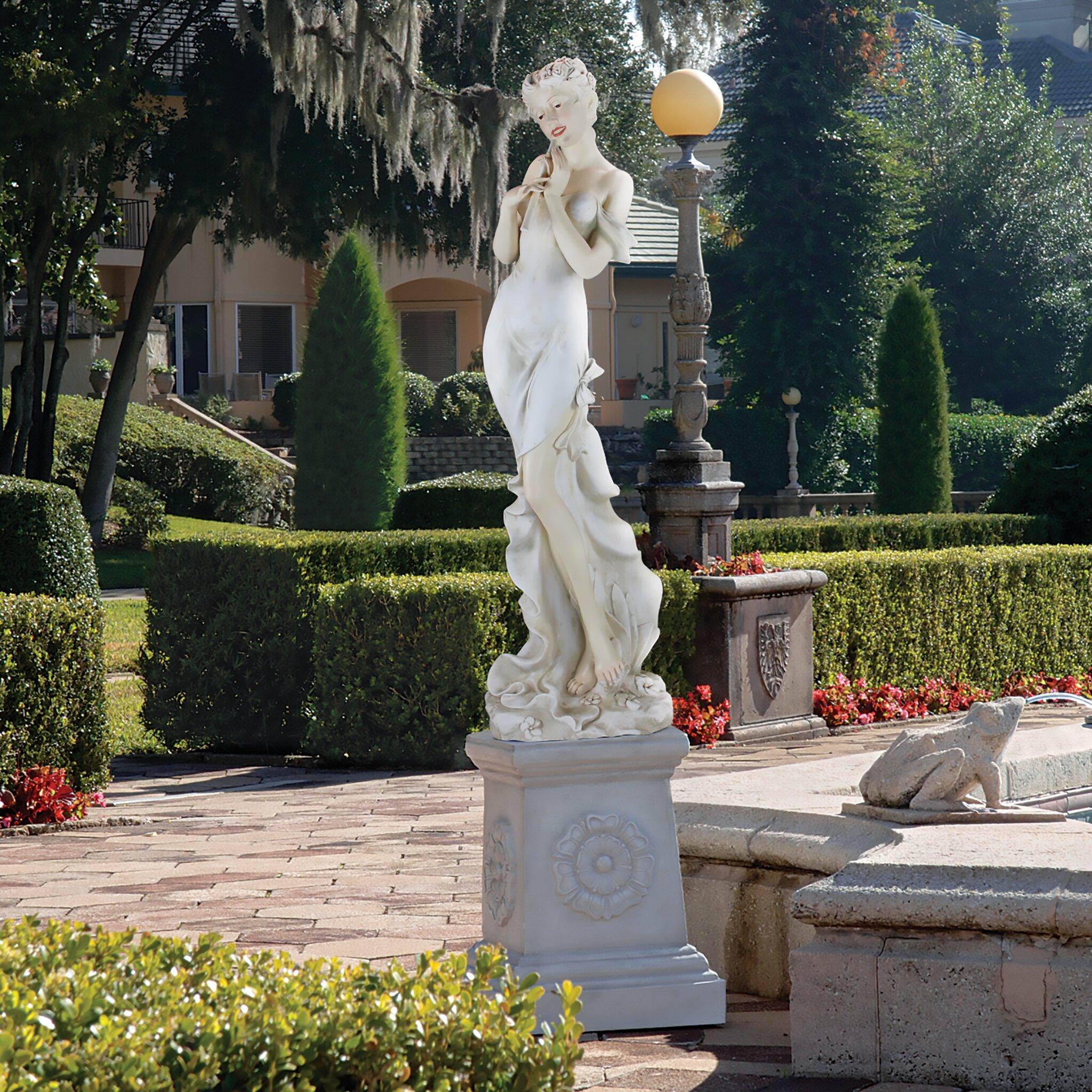 Design Toscano Thalia Muse Of The Garden Oversized Statue
