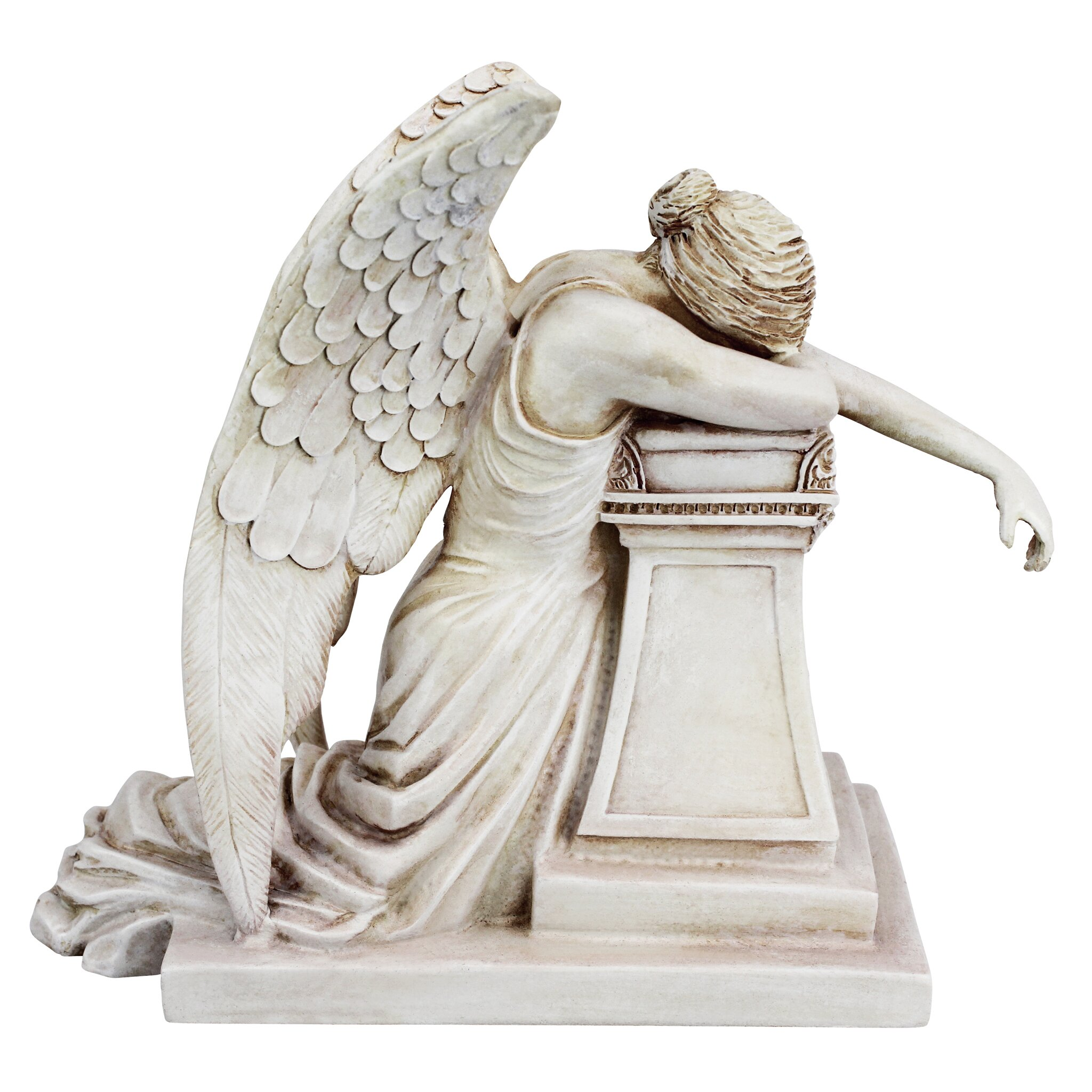 Design toscano angel of grief monument figurine reviews wayfair - Angels figurines for sale ...